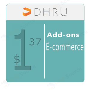 DHRU E-commerce [Add-ons] - 137 USD