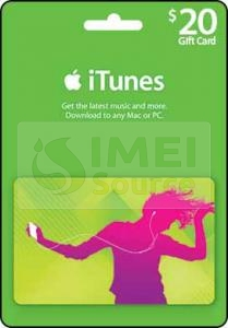 iTunes Gift Cards - IMEI Source